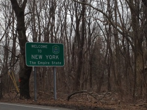Welcome back to NY. (c) Stacey Cooper