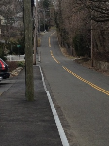 Ugh, not a fun hill to run up. (c) Stacey Cooper